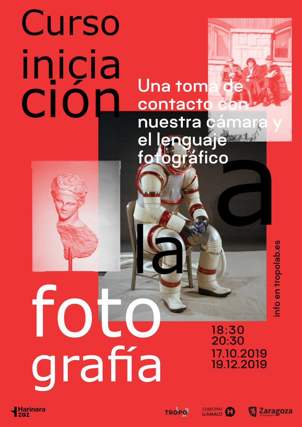 Taller de iniciación a la fotografía en Zaragoza